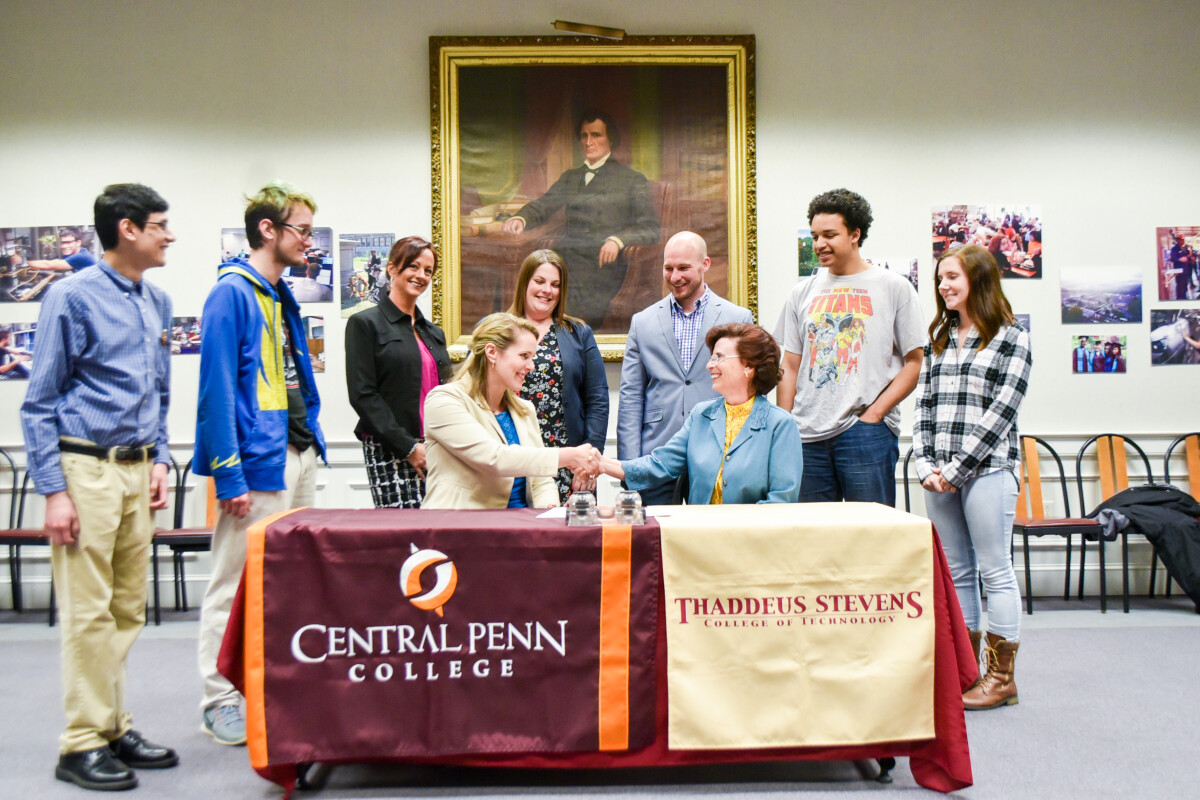 Thaddeus Stevens Central Penn College Announce Dual Admission
