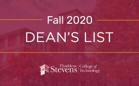 Dean's List- Fall 2020